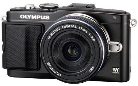 Olympus PEN Lite E-PL5 Micro Four Thirds Camera black
