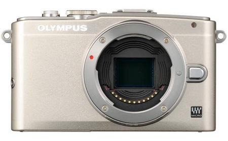Olympus PEN Lite E-PL5 Micro Four Thirds Camera silver no lens no grip