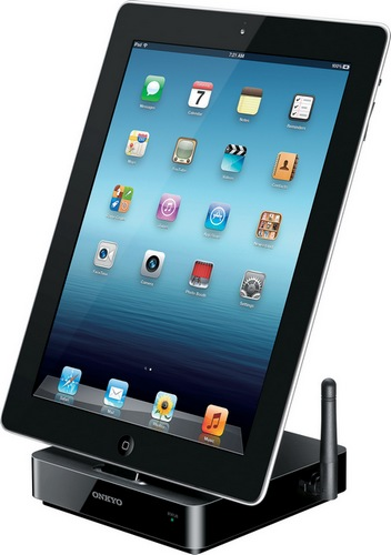 Onkyo DS-A5 AirPlay iPhone iPad Dock ipad