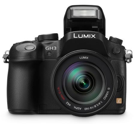 Panasonic LUMIX DMC-GH3 Micro Four Thirds Camera flash