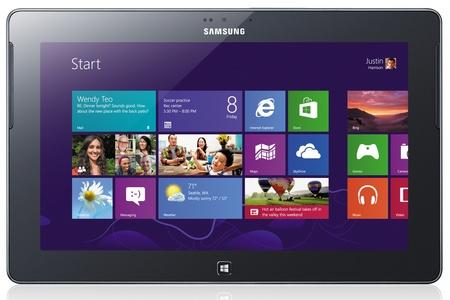 Samsung ATIV Tab Windows RT Tablet front