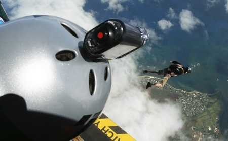 Sony Action Cam HDR-AS10 and HDR-AS15 HD Sports Cameras in use