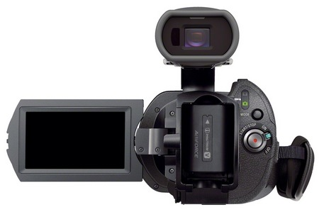 Sony Handycam NEX-VG900 Full Frame 35mm Camcorder back