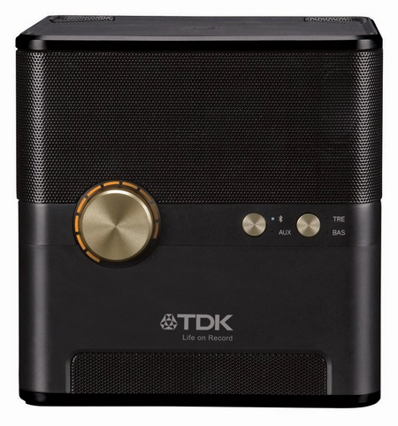 TDK Life on Record Wireless Charging Cube speaker