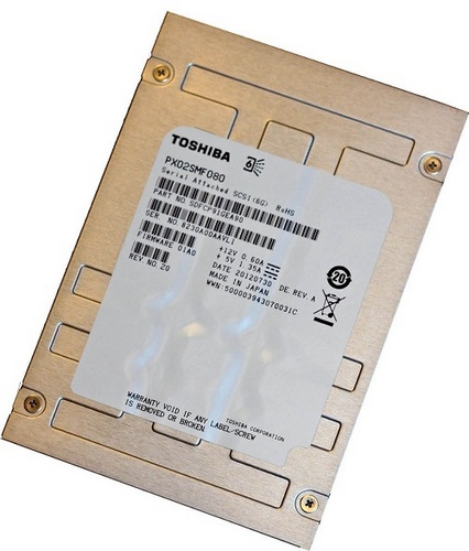 Toshiba PX02SM, PX02AM and PX03AN Enterprise SSDs