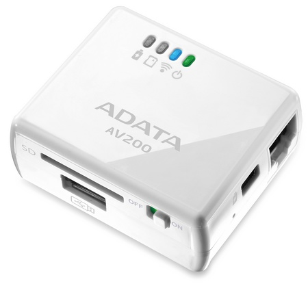 ADATA DashDrive Air AV200 Portable WiFi Router 1