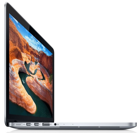 Apple MacBook Pro 13-inch gets Retina Display and Ivy Bridge side