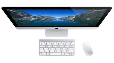 Apple iMac 2012 top