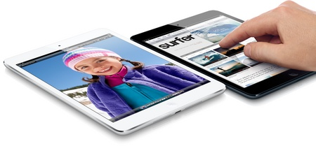 Apple iPad mini 7.9-inch Touchscreen, dual-core A5 lte 1080p video touch
