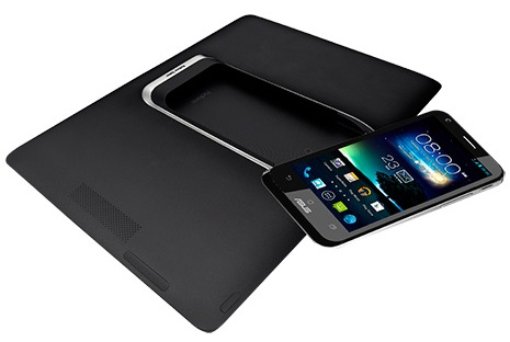 Asus PadFone 2 Smartphone-Tablet Combo separate