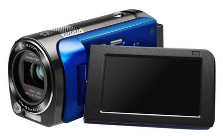BenQ M33 Night Vision Full HD Camcorder display