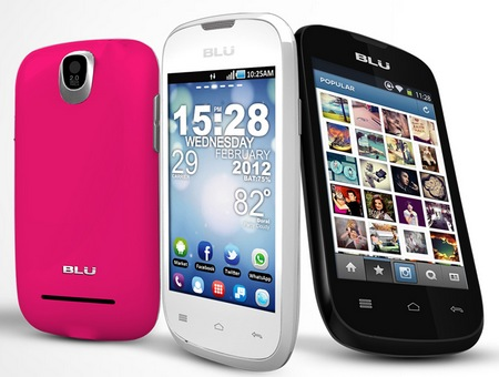 Blu Products Dash 3.5 Entry-level Dual-SIM Android Smartphone