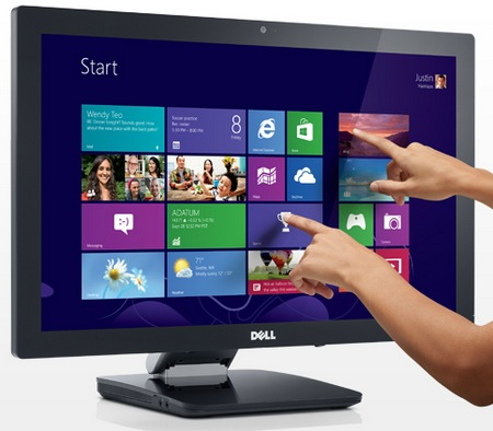 Dell S2340T Multitouch Display multitouch 1