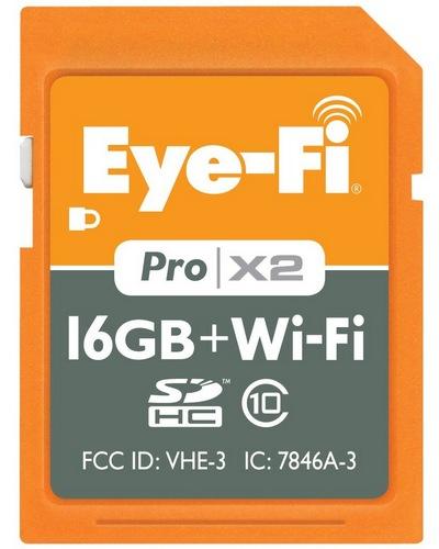 Eye-Fi Pro X2 16GB Wireless SD Card