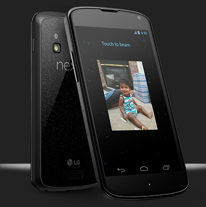 Google LG Nexus 4 SnapDragon S4 Pro, 4.7-inch 320ppi IPS+ and Android 4.2