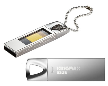 Kingmax UI-05 USB Flash Drive with Glass Ceiling