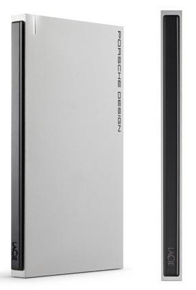 LaCie Porsche Design P'9223 Slim USB 3.0 Mobile Drive side