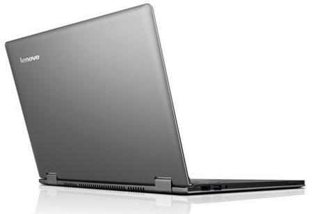 Lenovo IdeaPad Yoga 13 Convertible Hybrid Notebook Tablet Windows 8 back