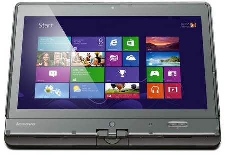 Lenovo ThinkPad Twist Windows 8 Convertible Ultrabook for Business front