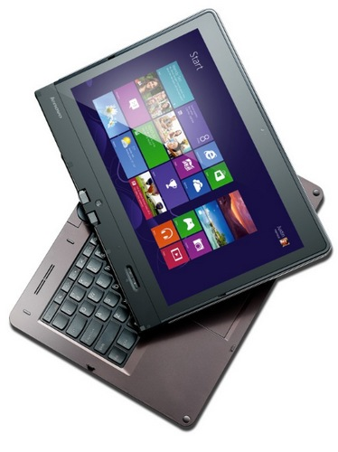 Lenovo ThinkPad Twist Windows 8 Convertible Ultrabook for Business twisting 1