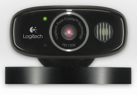 Logitech Broadcaster WiFi Webcam for Mac ,iPhone and iPad front
