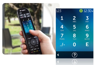 Logitech Harmony Touch Universal Remote with Touchscreen number pad