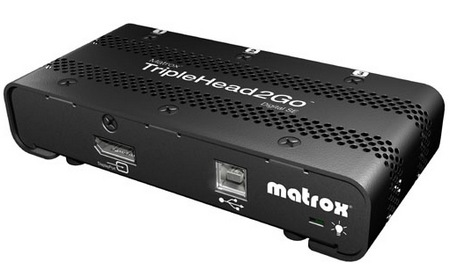 Matrox TripleHead2Go Digital SE Multi-monitor Adapter angle
