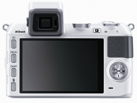 Nikon 1 V2 Interchangeable Lens Mirrorless Camera back