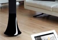 Parrot Zikmu Solo Wireless Speaker Tower with ipad