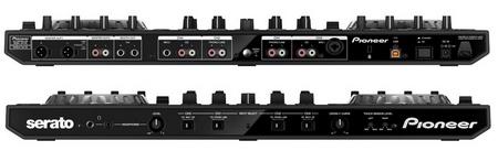 Pioneer DDJ-SX 4-channel Performance DJ Controller for Serato DJ Software connectors