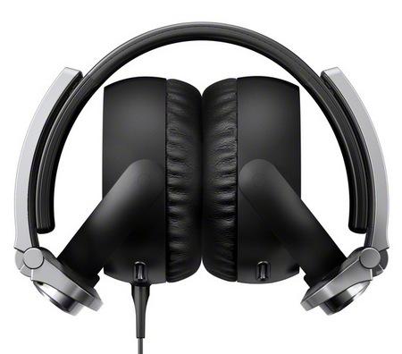 Sony MDR-XB800 Extra Bass headphones folded