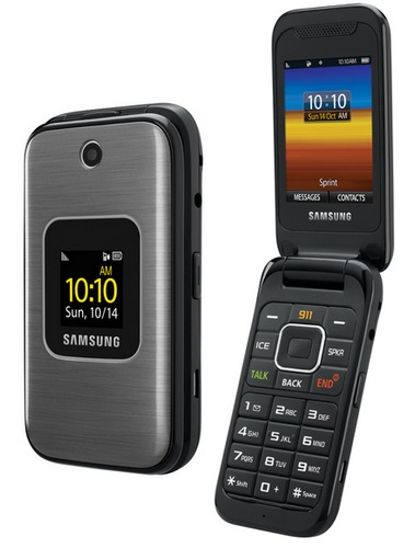 Sprint Samsung M400 Mobile Phone for Seniors