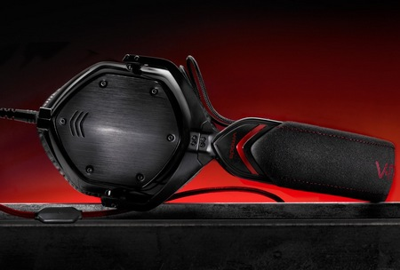 V-Moda Crossfade M-100 Metal Customizable Headphones shadow