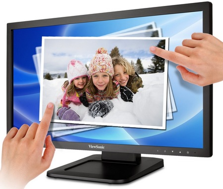 ViewSonic TD2220 Dual-point Touch Display