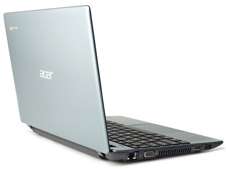 Acer C7 Chromebook lid