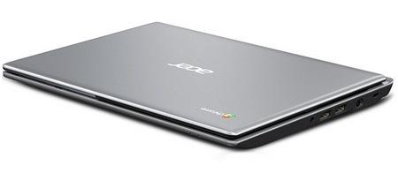 Acer C7 Chromebook side 1