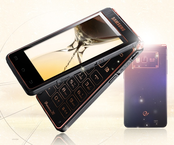 China Telecom Samsung SCH-W2013 Dual-screen Flip Android Phone gets Quad-core CPU
