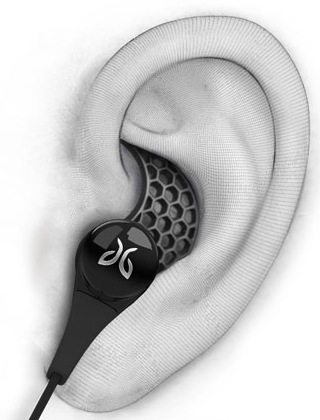 JayBird BlueBuds X In-ear Bluetooth Headphones ear fit