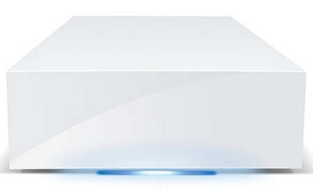 LaCie CloudBox Simple Network Storage Solution front