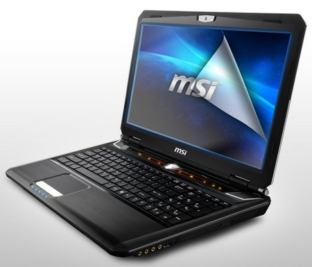 MSI GX60 Gaming Notebook packs AMD Trinity A10 and Radeon HD7970M angle