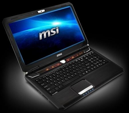 MSI GX60 Gaming Notebook packs AMD Trinity A10 and Radeon HD7970M