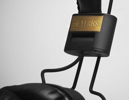 Marshall Major 50 FX Headphones Celebrates its 50th Anniversary gold accent