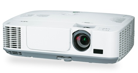 NEC M271X, M311X and M311W Portable Projectors angle 1