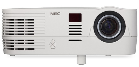 NEC VE281 and VE281X Multimedia Projectors front
