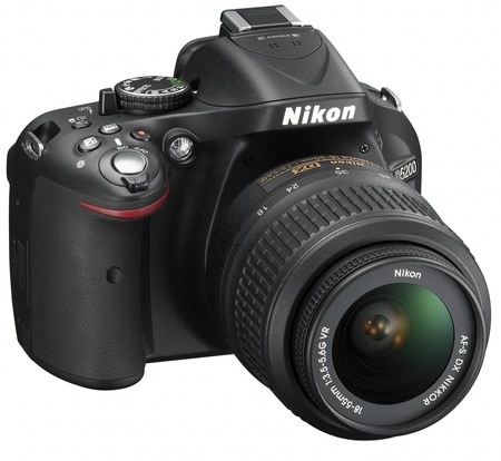 Nikon D5200 Digital SLR Camera with 39-point AF and 24.1 Megapixel Sensor angle 1