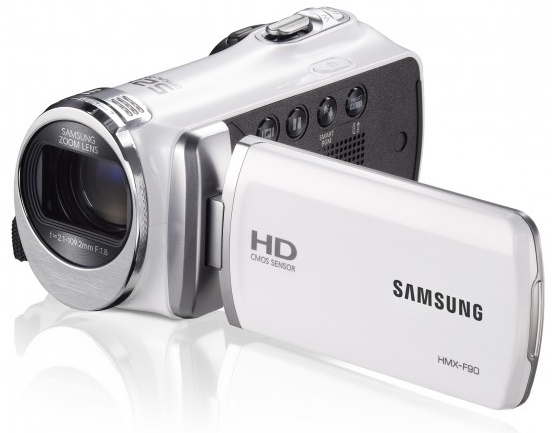 Samsung HMX-F90 720p Camcorder with 52x Optical Zoom