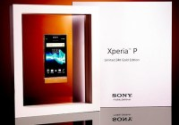 Sony Xperia P Limited 24K Gold Edition