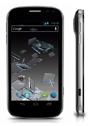 Sprint ZTE Flash Smartphone packs 12.6 Megapixel Camera side