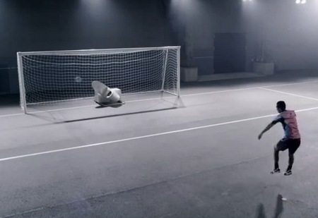 TOTO Toilet Goalkeeper can really save goals saving