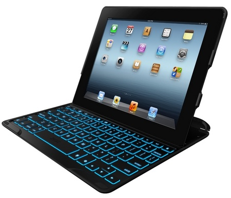 ZAGG ZAGGkeys PROfolio+ Keyboard Case for iPad 2 3 4